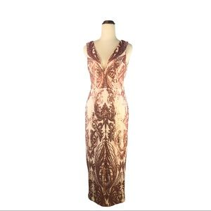 Bariano Rose Gold Dress | Size :8 | Brand new